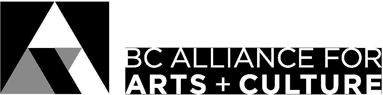 BC Alliance for Arts and cultureBW